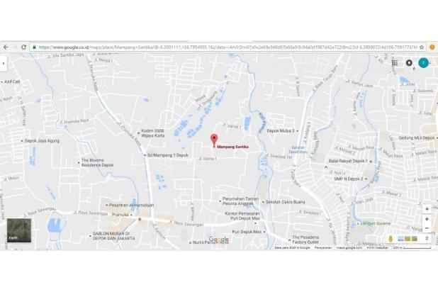 Rumah 2 Lantai 3 Kamar di Mampang Depok 9586160