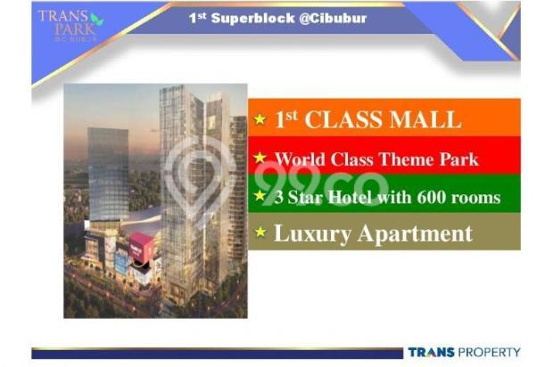 Dijual Apartemen 1BR Nyaman Strategis di Trans Park Cibubur Depok 13024182