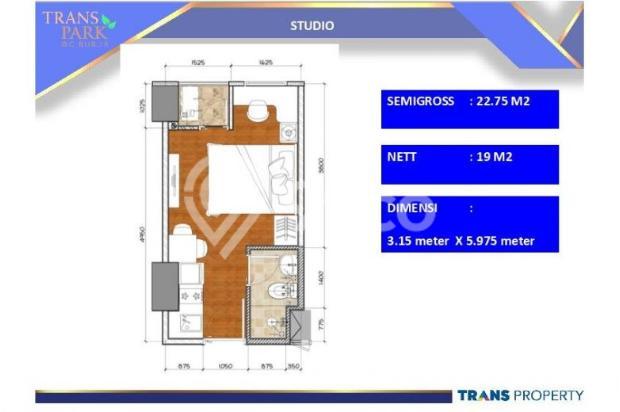 Dijual Apartemen 1BR Nyaman Strategis di Trans Park Cibubur Depok 13024197