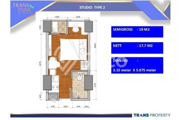 Dijual Apartemen 1BR Nyaman Strategis di Trans Park Cibubur Depok 13024206