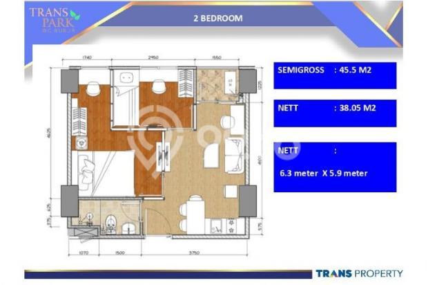 Dijual Apartemen 1BR Nyaman Strategis di Trans Park Cibubur Depok 13024216