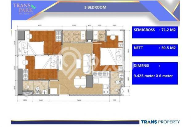Dijual Apartemen 1BR Nyaman Strategis di Trans Park Cibubur Depok 13024221