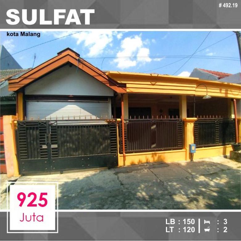 Rumah 2 Lantai Luas 120 di Sulfat Agung kota Malang _ 496.19