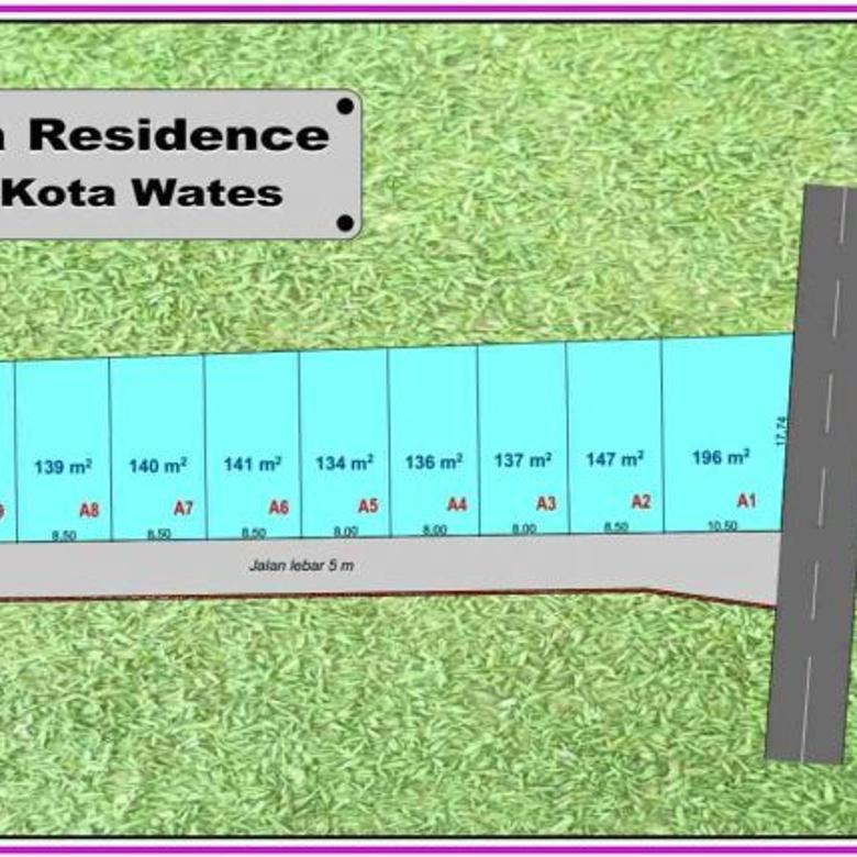 Tanah Kavling Amarta Residence, KulonProgo ; Cicil 12X  Bunga