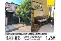Rumah Rapi di Metland Menteng Pulo Gebang Jakarta Timur