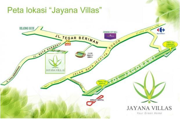 Rumah Oke Harga Cantik di Cluster Jayana Villas 4427889