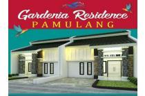 Cluster Bergengsi di Pamulang Tangsel Gardenia Residence Harga 660 jt