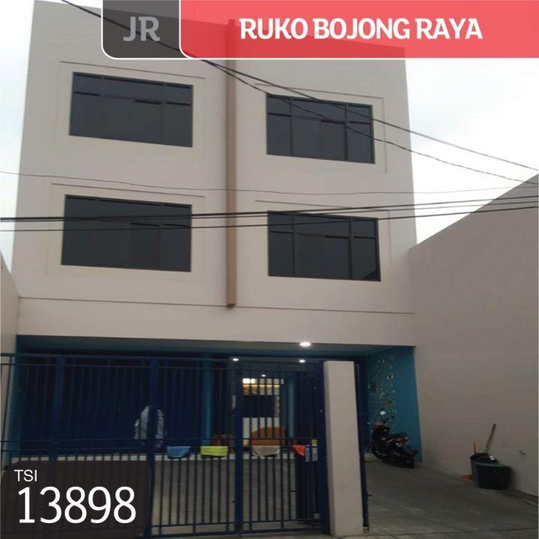 Ruko Bojong Raya, Jakarta Barat, 4x27, 3½ Lt, SHM