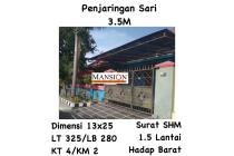 Rumah Penjaringan Sari Rungkut Surabaya Siap Huni Nego