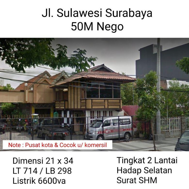 Rumah Sulawesi Surabaya Pusat Kota Nego