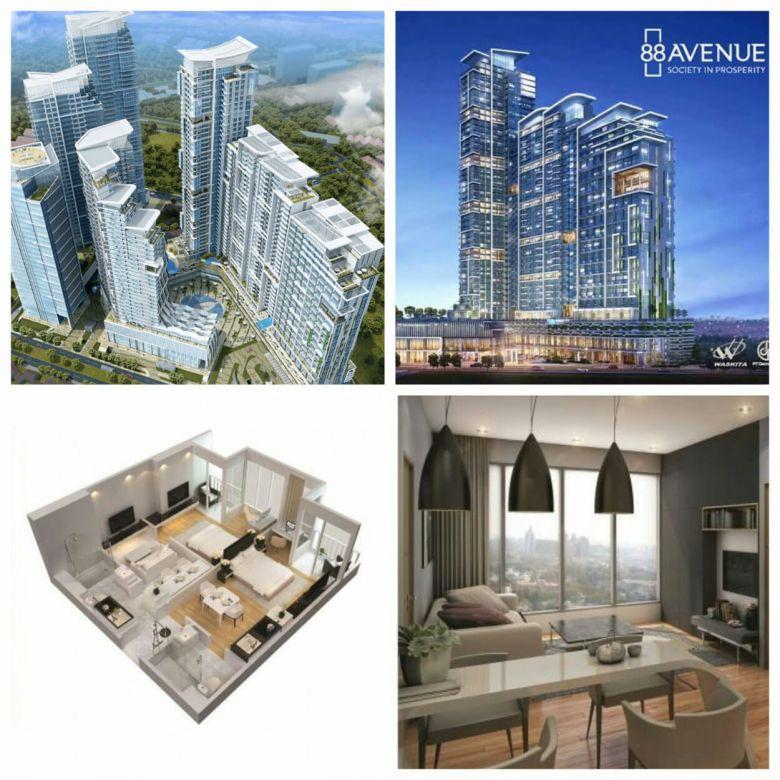 Murah Apartemen Avenue 88 strategis Darmo Permai Surabaya