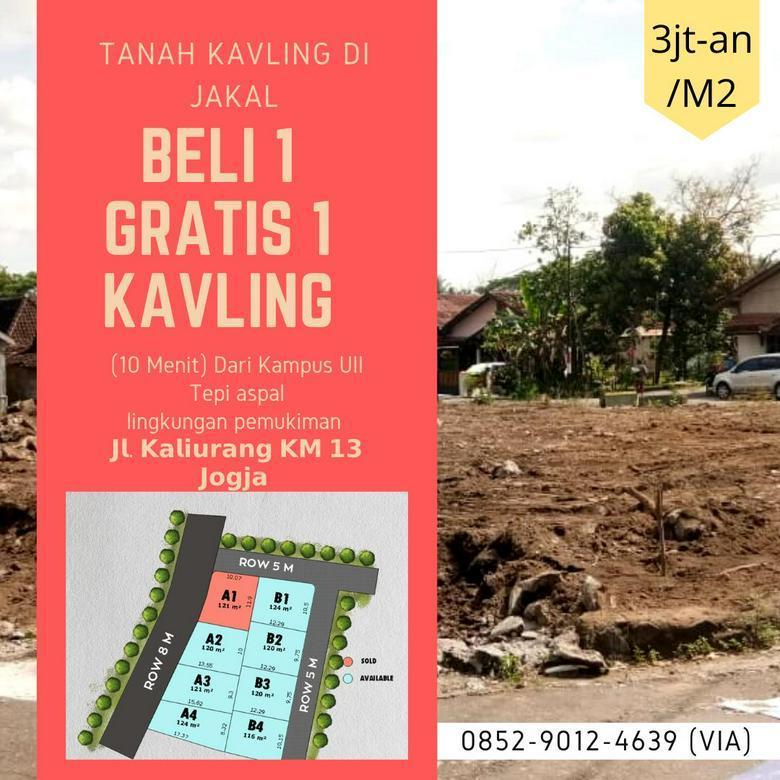 Promo Ramadhan Kavling Tanah Dekat Pasar Jangkang Sleman - Yogyakarta