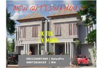 Rumah Baru 2 Lantai Di Jln Gutiswa Cekomaria Denpasar