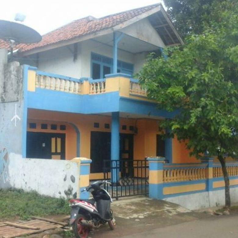 Murah Rumah 2 Lantai Pedesaan Pinggir Jalan di Bojong Purwakarta Jawa Barat