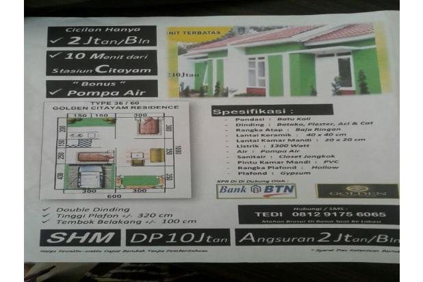 Dijual rumah murah di citayam 12398314