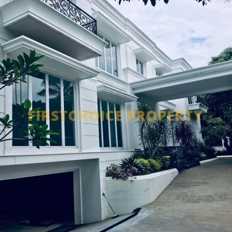 Dijual Rumah Baru dan Mewah full marble di Pondok Indah
