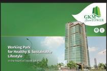 Ruang kantor disewakan digedung strategis GKM Green Tower TB Simatupang