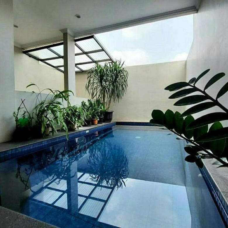 Rumah Cantik Minimalis di Cilandak, Jakarta Selatan ~ Swimming Pool