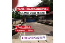 Pabrik Daur Ulang Thinner 4.200m2 Tigaraksa Cikupa Tangerang