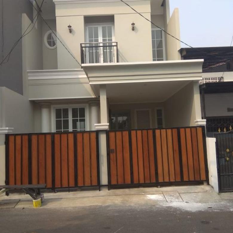 Rumah minimalis kokoh siap huni strategis Rawamangun