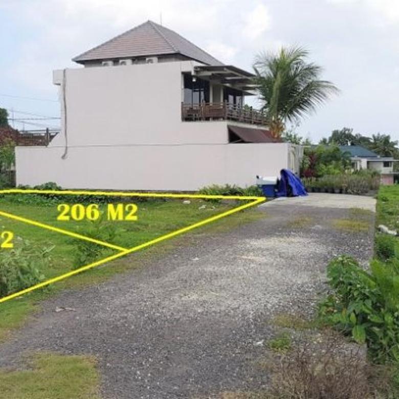 Dijual Tanah Kavling Siap Bangun Strategis di Canggu, Badung