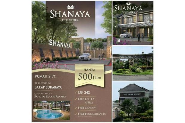 Rumah 2 lantai minimalis cluster shanaya puri safira 12751836