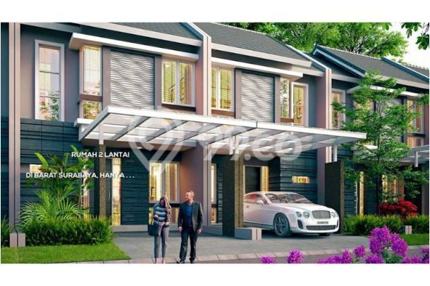 Rumah 2 lantai minimalis cluster shanaya puri safira 12751839