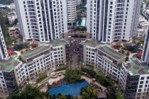 APARTMENT THE MANSION GOLF KEMAYORAN 2BR, LUAS 62m2 HANYA 65JT MURAH!!