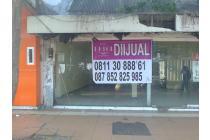 Dijual Bangunan Hitung Tanah Strategis di Jl Rajawali Surabaya