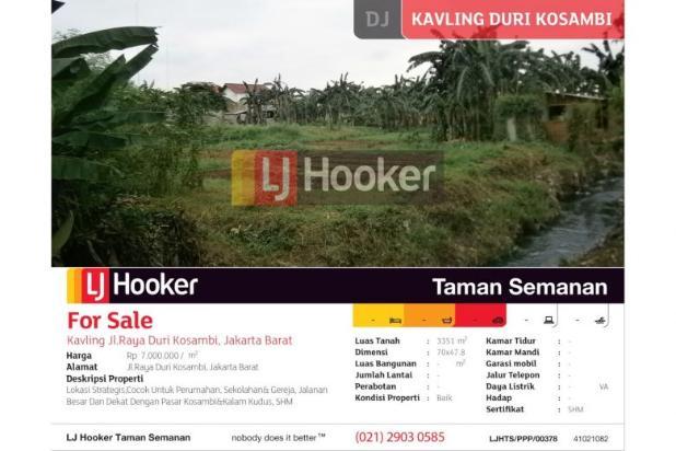 Kavling Jl. Raya Duri Kosambi, Jakarta Barat 5164373