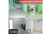 Ruko Pasar Delapan, Alam Sutra, Serpong, Tangerang, 4x12m, 2 Lt