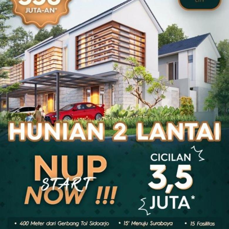 Dijual Rumah Pusat Kota di Mutiara City Sidoarjo