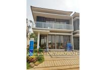"Rumah Hoek 2 lantai di Serpong BSD ""Golden park 2 Serpong"" Konsep Villa"