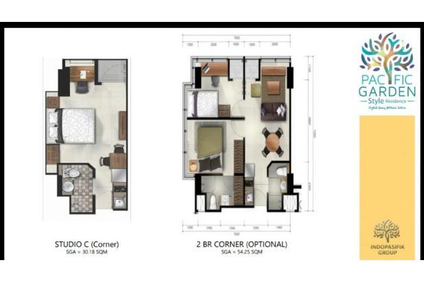 Rp627jt Apartemen Dijual