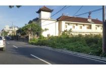 Tanah Pinggir Jalan Raya Merdeka Kuta Dekat Siloam Hospital