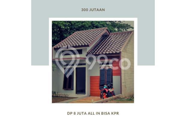 Rumah Berkualitas 2 Kamar, DP 8 Juta, Hanya 300 Jutaan 17996279