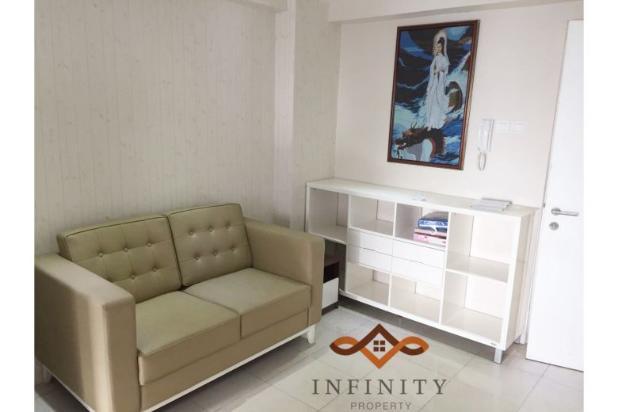 dijual apt greenbay pluit 3BR tower H, view pool, full furnish 800jt 12898724