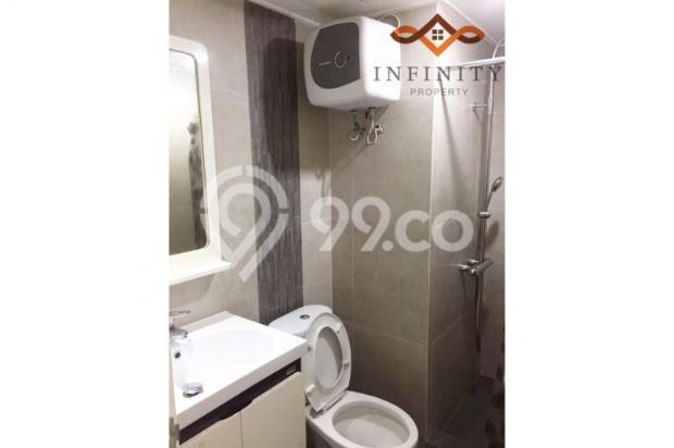 dijual apt greenbay pluit 3BR tower H, view pool, full furnish 800jt 12898725