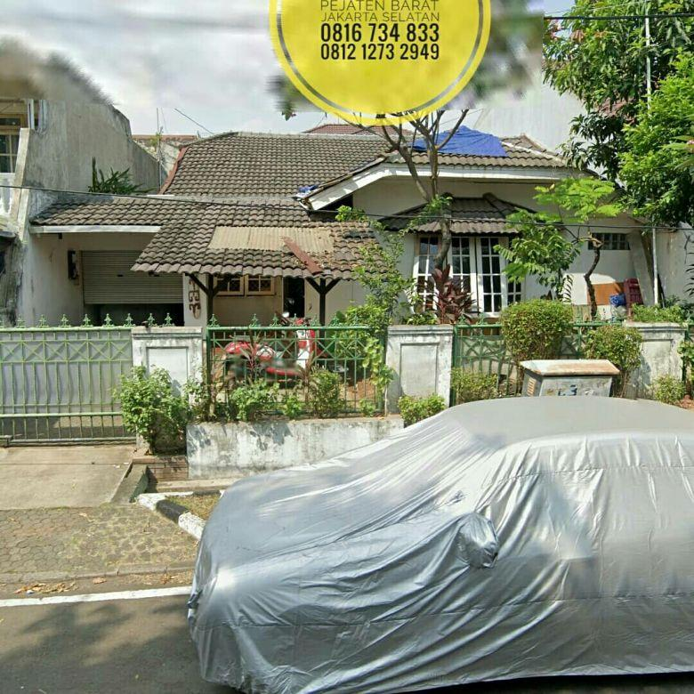 TerMURAH Rumah Buncit Indah Mimosa Raya Lt312m2 Pejaten Barat