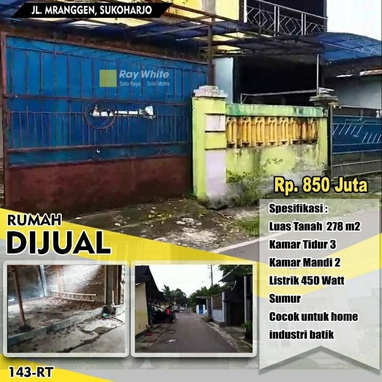 Rumah Jl. Mranggen Manang