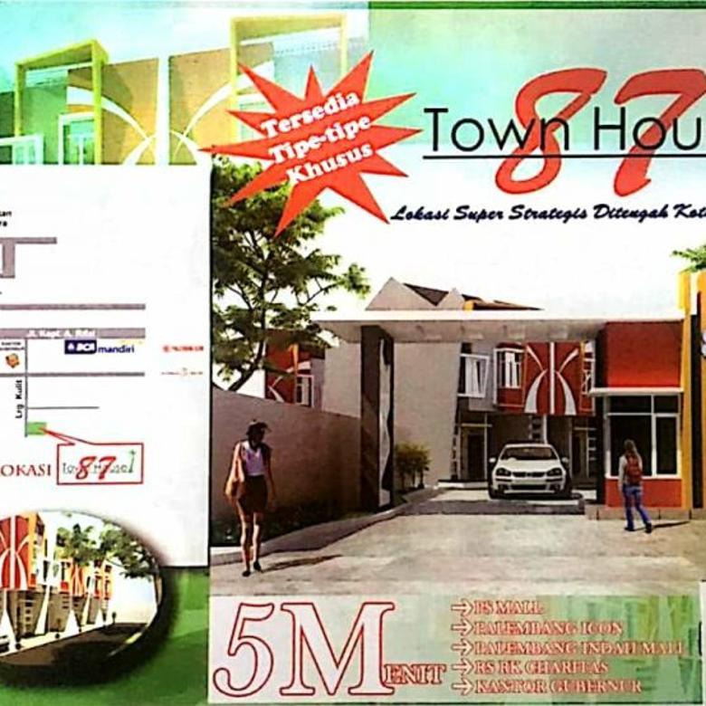 Townhouse Baru tengah Kota Palembang belakang kantor Gubernur