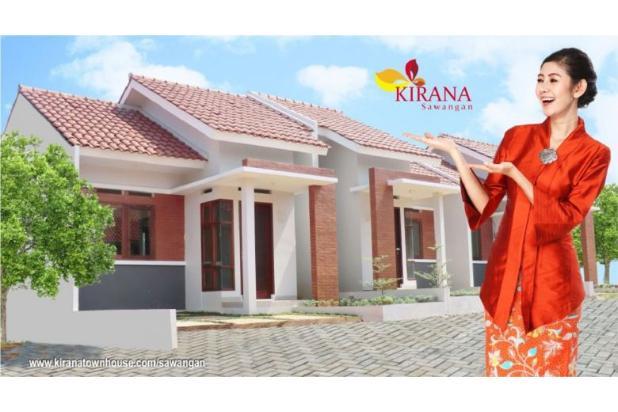 KPR DP 0% Bunga Subsidi 6%  Pertahun Free All-in, di Kirana Sawangan Ringan 17826362