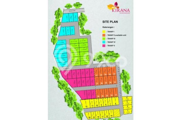 KPR DP 0% Bunga Subsidi 6%  Pertahun Free All-in, di Kirana Sawangan Ringan 17826366