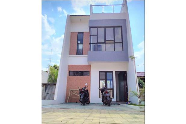 Hunian 2,5 Lantai Gaya Milenial Ada Rooftopnya loh, Harga Ekonomis, Lokasi di Belakang Kampus UI Depok