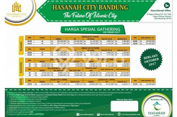 HASANAH CITY perumahan syariah daeerah Bandung booking segera 14417964