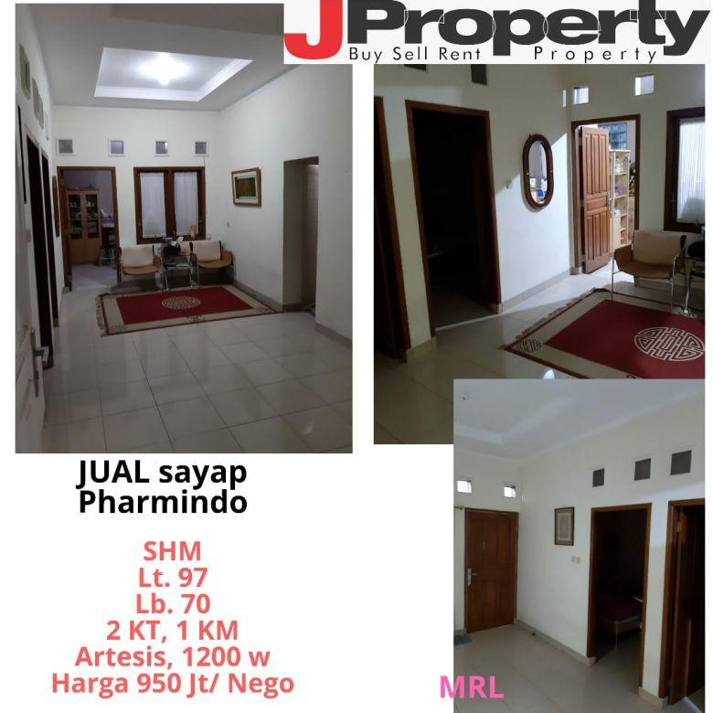 Dijual Rumah Nyaman di Sayap Pharmindo Bandung