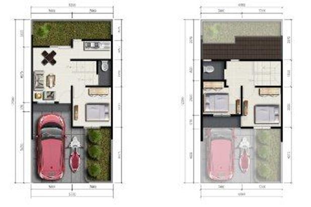 Rp853jt Rumah Dijual