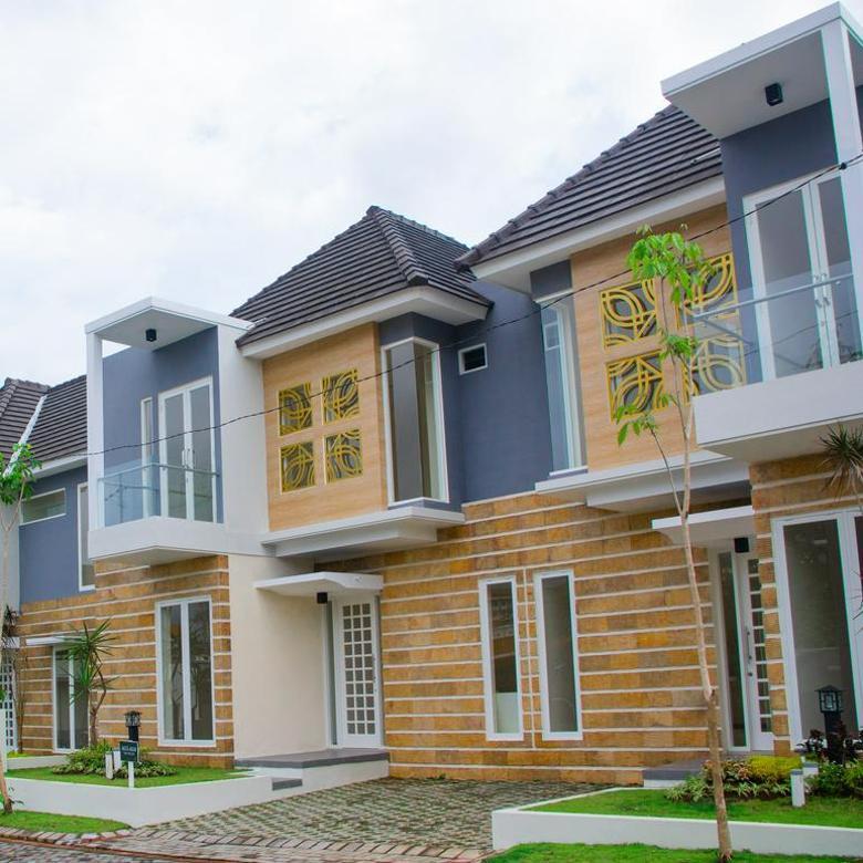 Rumah 2 Lantai Di Malang Berlokasi Dekat Banyak Kampus