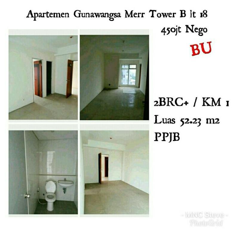 Apartemen Gunawangsa Merr lt 18 Tower B 400jt Nego