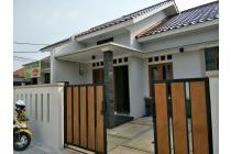 Rumah nempel kampus UI & Stasiun kereta type 80/100,900 Juta  di Beji Depok